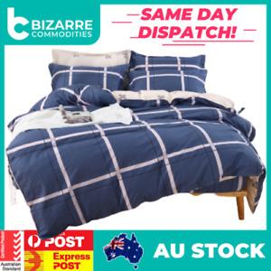 Comfortable Semiactive 100% cotton bedding set All size 4 piece double line
