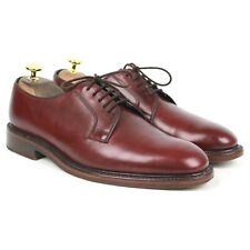 Loake 1880 'Perth' Burgundy Derby Leather Men's Shoes UK 8 F