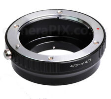 Unbranded 4/3 Olympus Panasonic lens fit to Micro Four Thirds m4/3 mount adapter