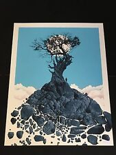 DAN MCCARTHY - All Was Right With The World RARE SIGNED art print screenprint