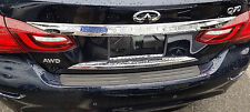 REAR BUMPER TOP SURFACE COVER PROTECTOR FITS 2014 2017 15 17 INFINITI Q70