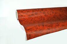 "vvivid  quality Rose wood grain knotty 2ft x 48"" pre-laminated vinyl wrap"