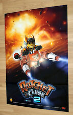 2003 Jak II Renegade / Ratchet & Clank 2 Rare Poster 80x57cm Playstation 2 PS2