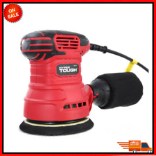 2.5-Amp Orbital Sander, 5-Inch, Corded, Handle Reduce Vibration, Have Dust Bag