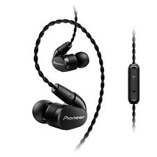 PIONEER Hi-Res Canal type Earphone SE-CH5T-K Black New in Box