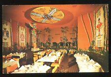 (#021) Carefree International Restaurant Carefree Arizona 1950-60s Postcard