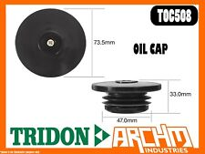 TRIDON TOC508 - OIL CAP - PLASTIC PUSH IN  -  COVER ORIFICE ENGINE OIL SUPPLY