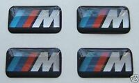 4 BMW M Tec Badge Alloy Wheel stickers Sport Emblem 17 18 19