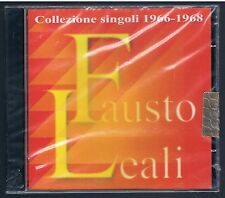 FAUSTO LEALI COLLEZIONE SINGOLI 1966-1968 CD F.C. SIGILLATOI!!