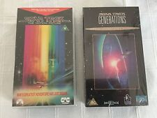 Star Trek-Motion picture+additional footage & Generations (Collectors editions)