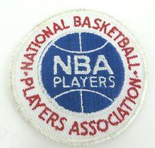 NBA PLAYERS ASSOCIATION vintage patch jacket hat National Basketball PRO