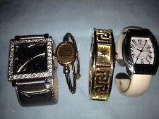 Lot of 7 Vintage Ladies Watches - Collezio, Terner, GG - Chain, Bangle, Vinyl