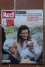 Paris Match 2397 Stéphanie baptême Elect° Picasso Ellroy Berger Grozny attentat