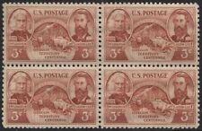 Scotts #964 3c Oregon Territory Stamp Block of 4, Mnh