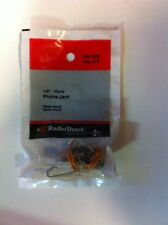 "1/4"" • Mono Phone Jack #274-0252 By RadioShack"