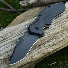 Kershaw Clash Assisted Open Plain Edge Black Finish Linerlock Knife 1605CKT