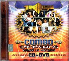 TIMBIRICHE Combo De Grandes Exitos CD +DVD Somos La Historia THALIA Benny Erik