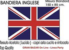 BANDIERA INGLESE INGHILTERRA cm. 150 X 90 England Flag Gran Bretagna UK