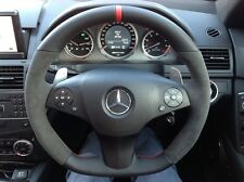 Mercedes Benz C Class Steering Wheel Upgrade W204 Leather AMG C63