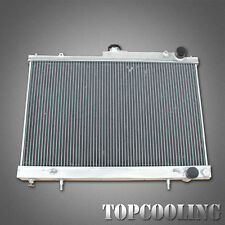 52MM 3 Row For Nissan Skyline R33 R34 GTS-T RB25DET MT Aluminum Radiator