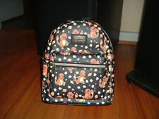 LOUNGEFLY POKEMON CHARMANDER MINI BACKPACK~ WITH TAGS~NEW~ BLACK~