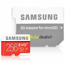 Samsung 256GB MicroSDXC Evo Plus Memory Card w/ SD Adapter UHS-I MB-MC256D