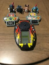 Pokemon 4 Figures & 2 Cartridges With Electronic Handheld Trainer 2002 Hasbro