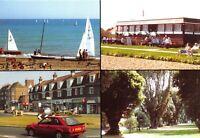 Goring by Sea Worthing West Sussex Multi View Postcard 6N