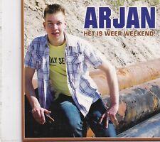 Arjan-Het Is Weer Weekend cd single