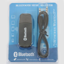 Wireless 3.5mm Audio Stereo Bluetooth Music Receiver for AUX IN Car Home Speaker