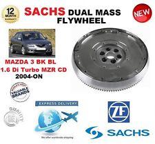 FOR MAZDA 3 1.6 Di TURBO MZR CD BK BL 2004-ON SACHS DMF DUAL MASS FLYWHEEL