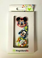 Disney World Parks Magic Band Bandits Mickey Mouse Goofy Donald Duck Nerds 3 Pk