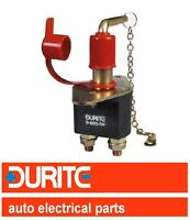 DURITE 12v/24v REMOVABLE ON/OFF KEY BATTERY ISOLATOR CUT OFF KILL SWITCH 0-605-5