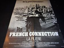 FRENCH CONNECTION ! william friedkin affiche cinema 1971 1er sortie (la filiere)