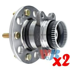 Pack of 2 Rear Wheel Hub Bearing Assembly replace 512437 HA590441 BR930520