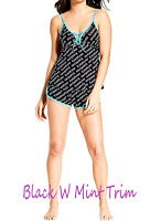 bebe Womens Sleep/Lounge Top with Pajama Shorts Sleepwear Set/ NEW