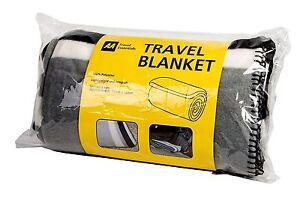 AA Travel Fleece Blanket Warm Winter Travel Car Seat Throw Comfort Blanket