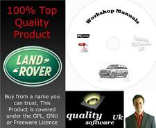 RANGE ROVER L322 Workshop Service & Repair Manual on CD