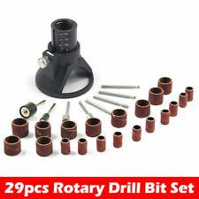 29Pcs/Set Rotary Tool Mini Drill Wood Working For Dremel Electric Drilling Bits