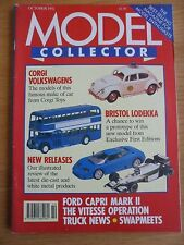 Model Collector Magazine October 1992