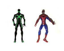 Marvel Universe Infinite Series Big Time Red Blue Spiderman Loose Action Figure