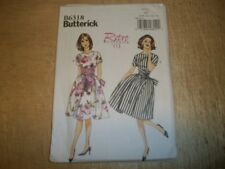 Sewing patterns: BRAND NEW! Butterick B6318, Misses '61 Dress, Sizes 6 to 14