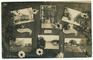 Souvenir from Twickenham, 1917 pc to Mrs. Price nr. Ludlow from 22 Gothic Road