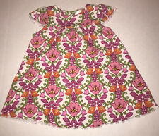 Vera Bradley Baby Dress 6 - 9 Mo Cap Sleeve Floral Baby Dress