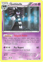 3 x Pokemon Card - XY Furious Fists 41/111 - GOTHITELLE (rare) - NM/Mint