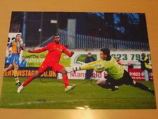 Signed Daniel Sturridge Liverpool FC 12x8 Photo - England