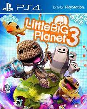 LITTLE BIG PLANET 3 para PS4 en CASTELLANO - ENTREGA AHORA