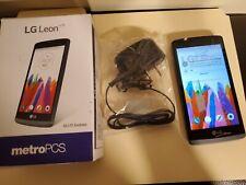 LG Leon MS345 - 8GB - Gray NEW (MetroPCS) Smartphone