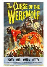 The Curse of the Werewolf (2) - A4 Laminated Mini Movie Poster - Hammer Horror