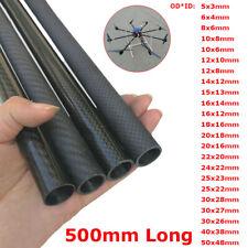 3K Fibra di carbonio tubo tubo tubo glossario matto superficie rotolo avvolto